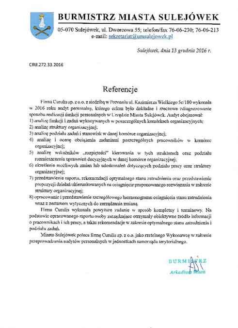 Badanie obciążenia zadaniami - Sulejówek