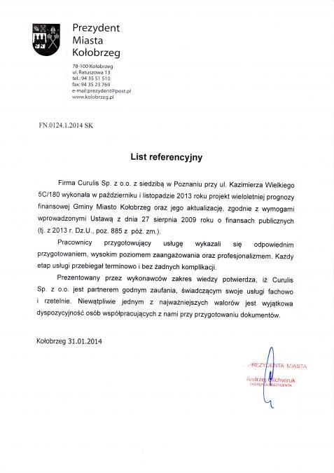 Obsługa WPF - Kołobrzeg