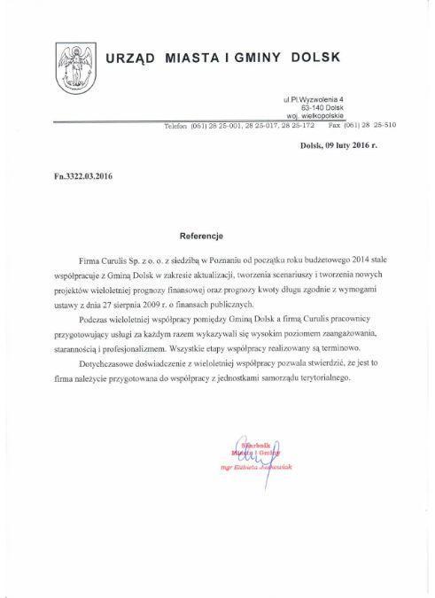 Obsługa WPF - Dolsk