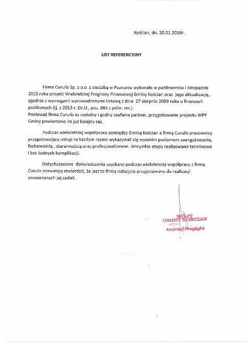 Obsługa WPF - Kościan