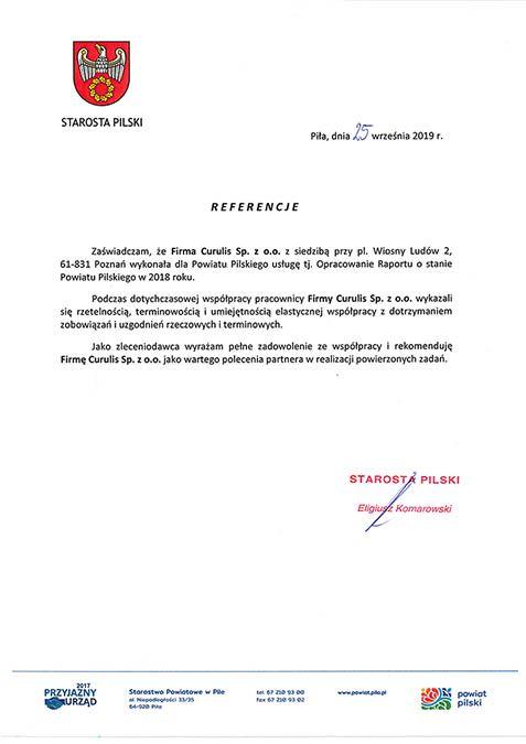Raport - Powiat Pilski