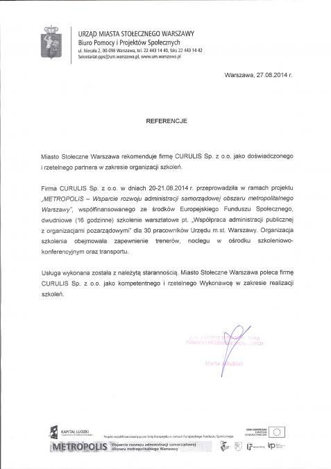 Szkolenie zamknięte - Warszawa