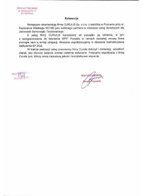 WPF Asystent - Powiat śremski