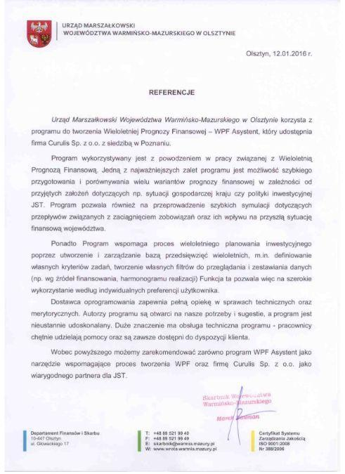 WPF Asystent - Woj. Warmińsko-mazurskie