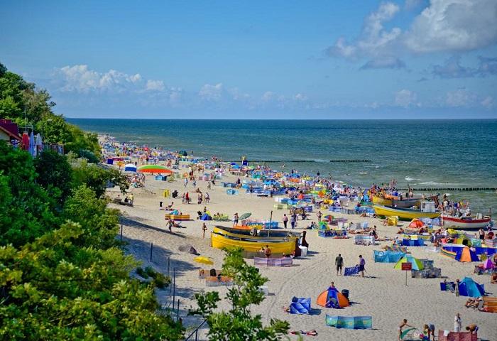 Rewal - plaża